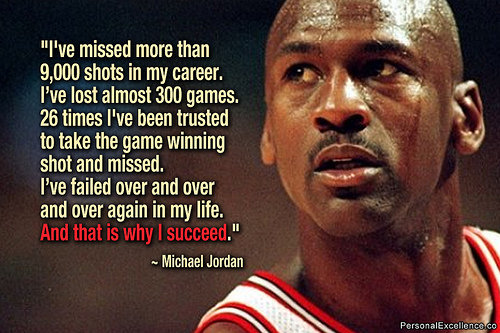 Persistence, the one thing failure cannot stop. Success will come.