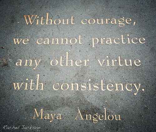 Is your courage as solid as stone, or does it need a little work?