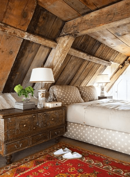 HouseHome-country-bedroom