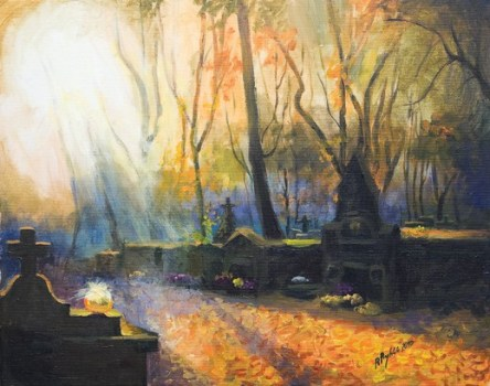 Autumn on the Rakowicki Cementary, Renata Rychlik.