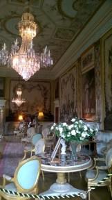 L'interno del castello Inveraray