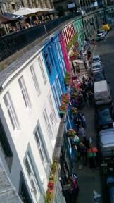 La via più colorata di Edimburgo