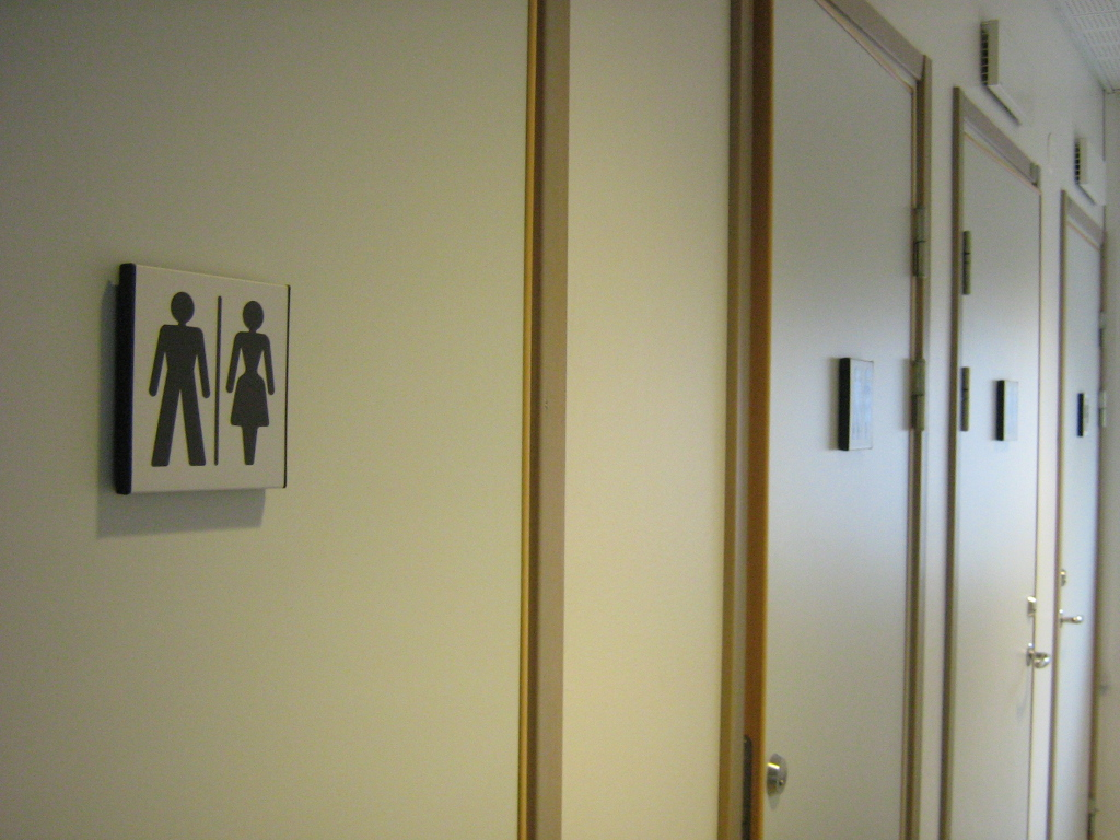 Gender in der Praxis: Unisextoiletten