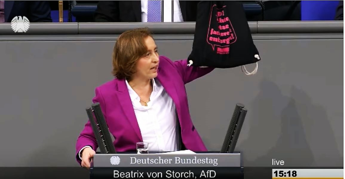 Der Bundestag tobt: Beatrix von Storch zeigt, wo die Feinde der Demokratie wirklich sitzen