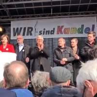 Kandel: Nach Rede von Ministerpräsidentin Dreyer gewalttätige Ausschreitungen gegen die Polizei