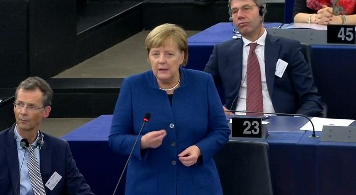 """Europaparlament: """"Wir wollen nicht den Preis für Merkels Fehler in der Migrationspolitik zahlen!"""""""