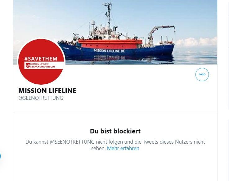 """Wird Mission Lifeline """"Philosophia-Perennis"""" zum Schweigen bringen?"""