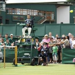 Tennis Umpire Chair Hire Ball Desk Wimbledon 2012 Opening Day The Philosophical Bear