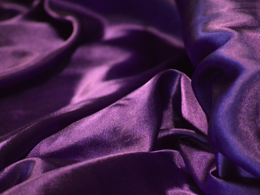 Purple is the essence of royalty