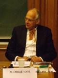 Otfried Höffe - Machiavel et la question du conflit : le pouvoir et le peuple.