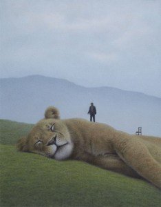 %name Quint Buchholz Schlafendes Tier   Sleeping Animal   2012