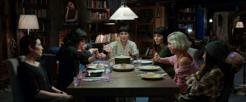 Noomi Rapace dinner characters