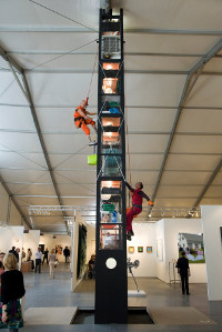 Counterweight Roomate, Alex Schweder and Ward Shelley, 2011
