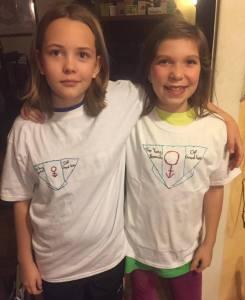 11 year olds Faith and Ainda