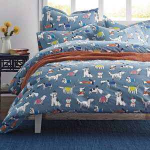 The Company Store Doggone It Percale Duvet Cover