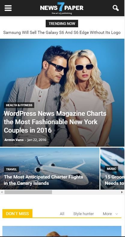 choosing the best wordpress theme - responsiveness
