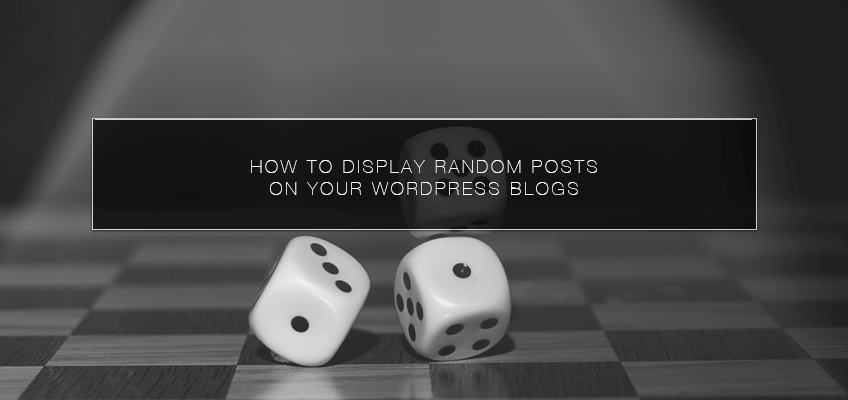 How to Display Random Posts On Your WordPress Blogs