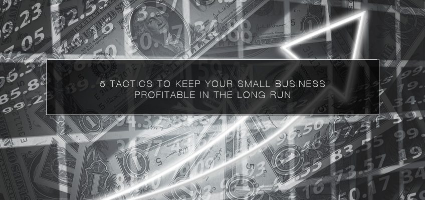 5 Tactics to Keep Your Small Business Profitable in the Long Run