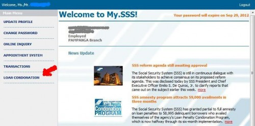 How To Apply For Sss Loan Condonation Program Online