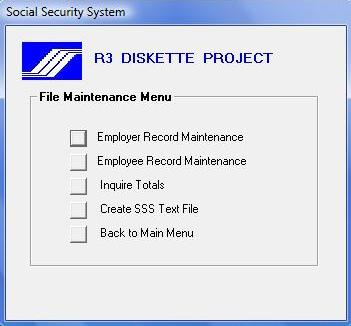 How To Use Sss R3 Program And Generate File