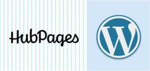 hubpages vs wordpress blogging