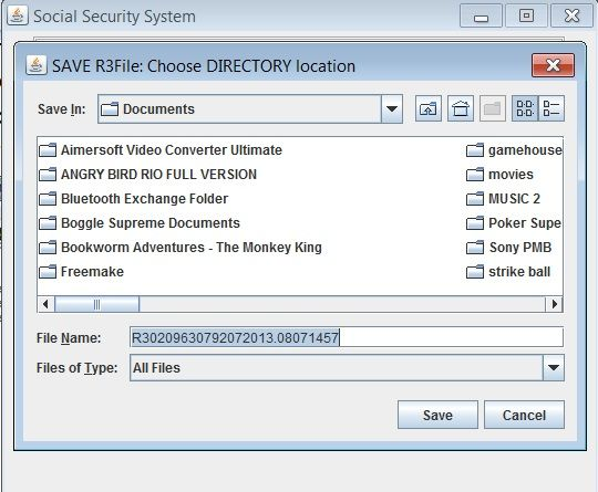 How To Use The Latest Sss R3 Program To Download Reports