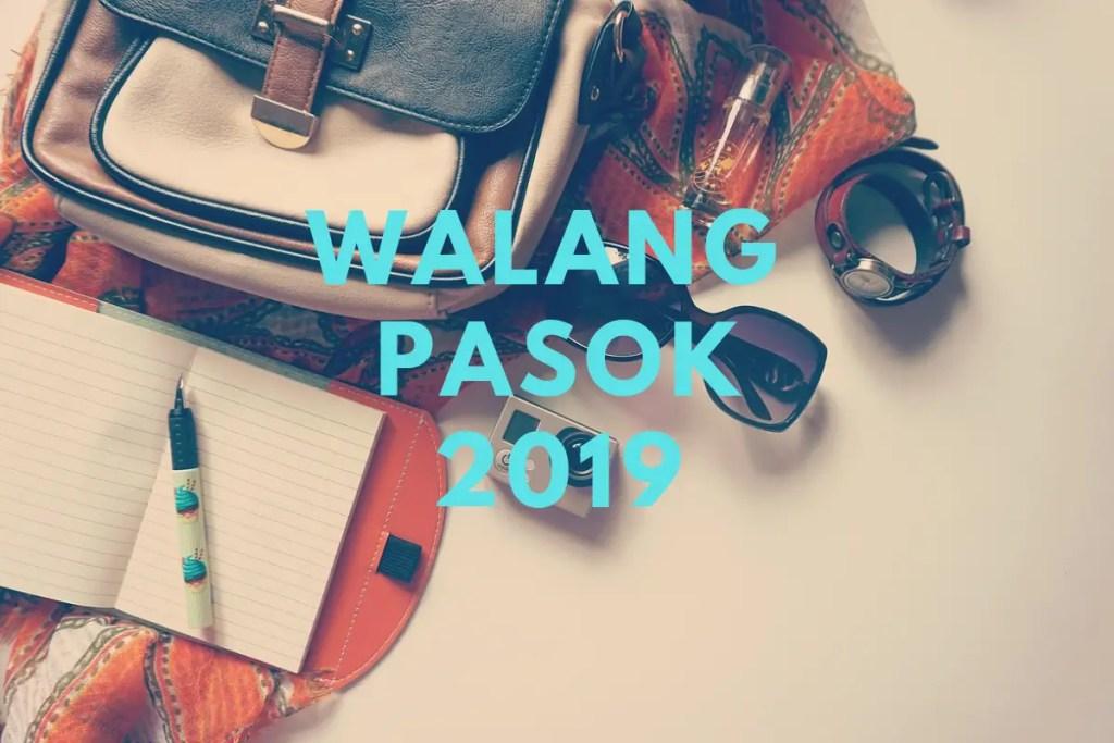list of philippine holidays 2019 walang pasok