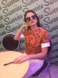 georgina wilson sunnies by charlie