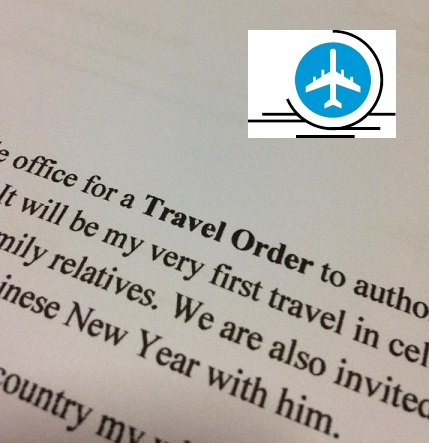 travel order form philippines