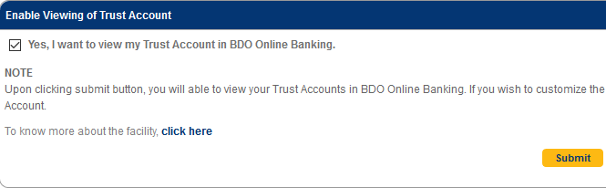 how to check bdo uitf online