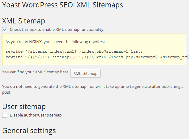 how to fix yoast xml sitemap white screen and blank page error