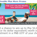PNB UITF Online Promo – Win as much as 50,000!
