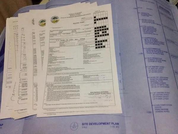 building permit requirements philippines