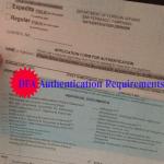 DFA Authentication of Documents Requirements – DFA San Fernando, Pampanga