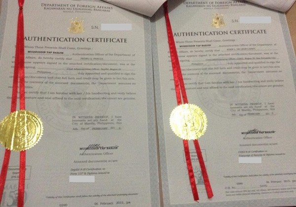 How to Red Ribbon Diploma, TOR, Form 137 from DFA – Requirements
