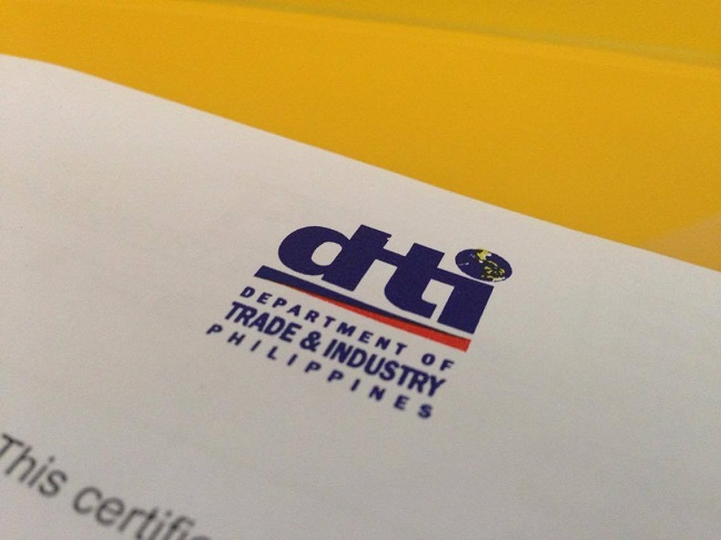 dti business name permit registration requirements
