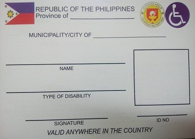 pwd id requirements