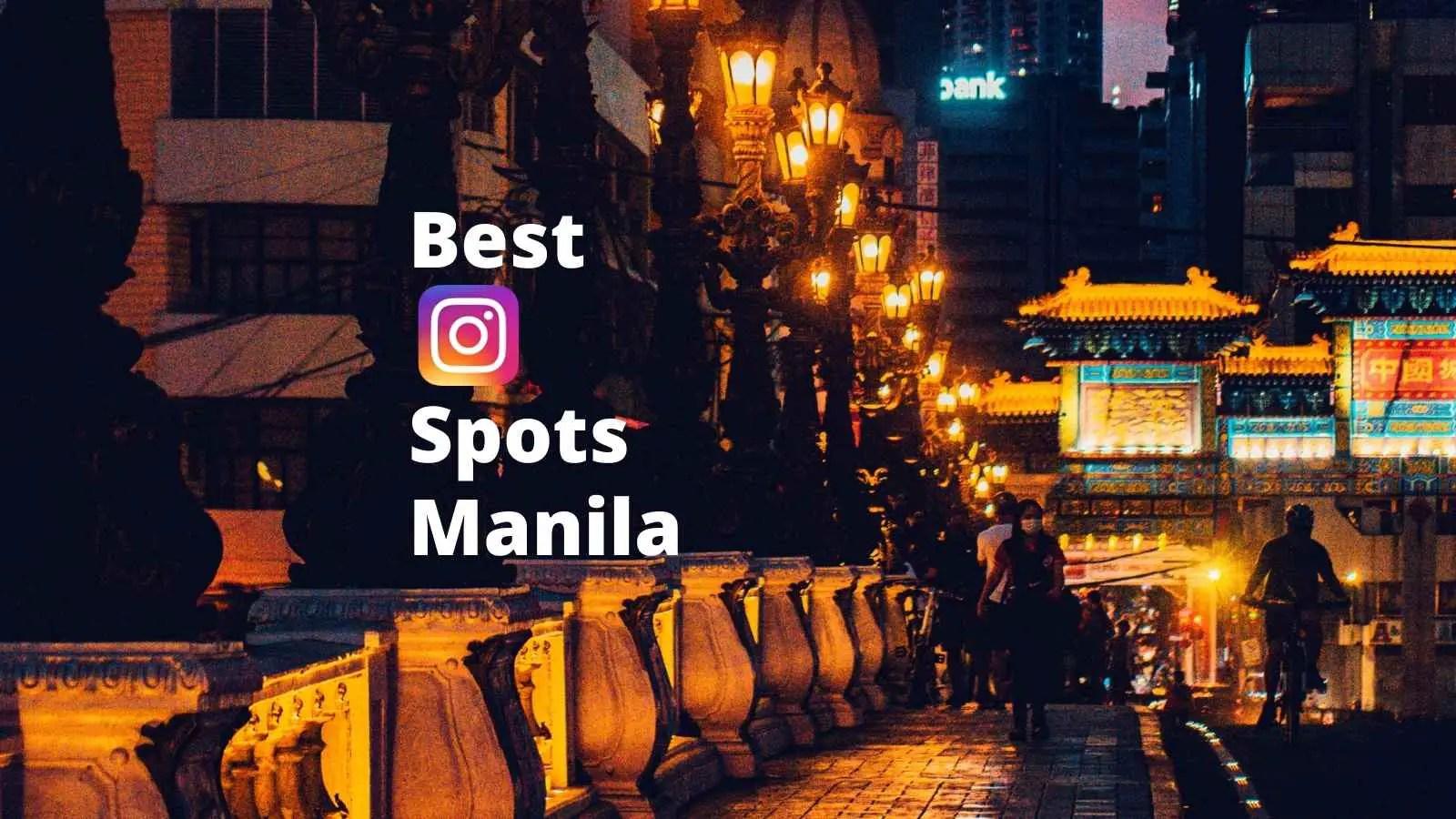best instagram spots in manila philippines