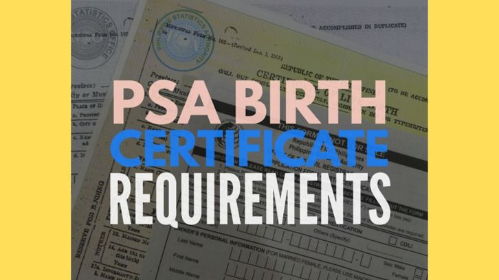 how to get psa birth certificate philippines