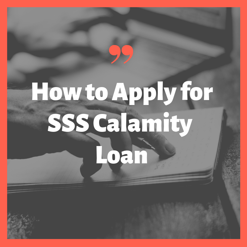 how to apply sss calamity loan requirements procedure application