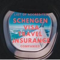 list of accredited schengen visa travel insurance companies philippines