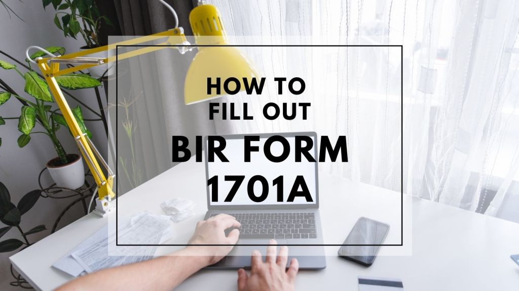 how to fill up BIR form 1701a for self employed and professional taxpayers