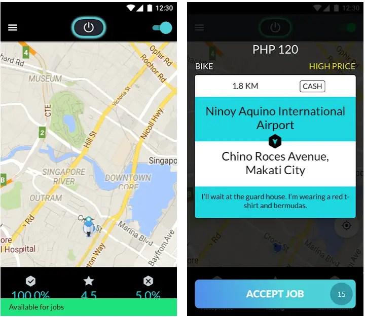 angkas rider app