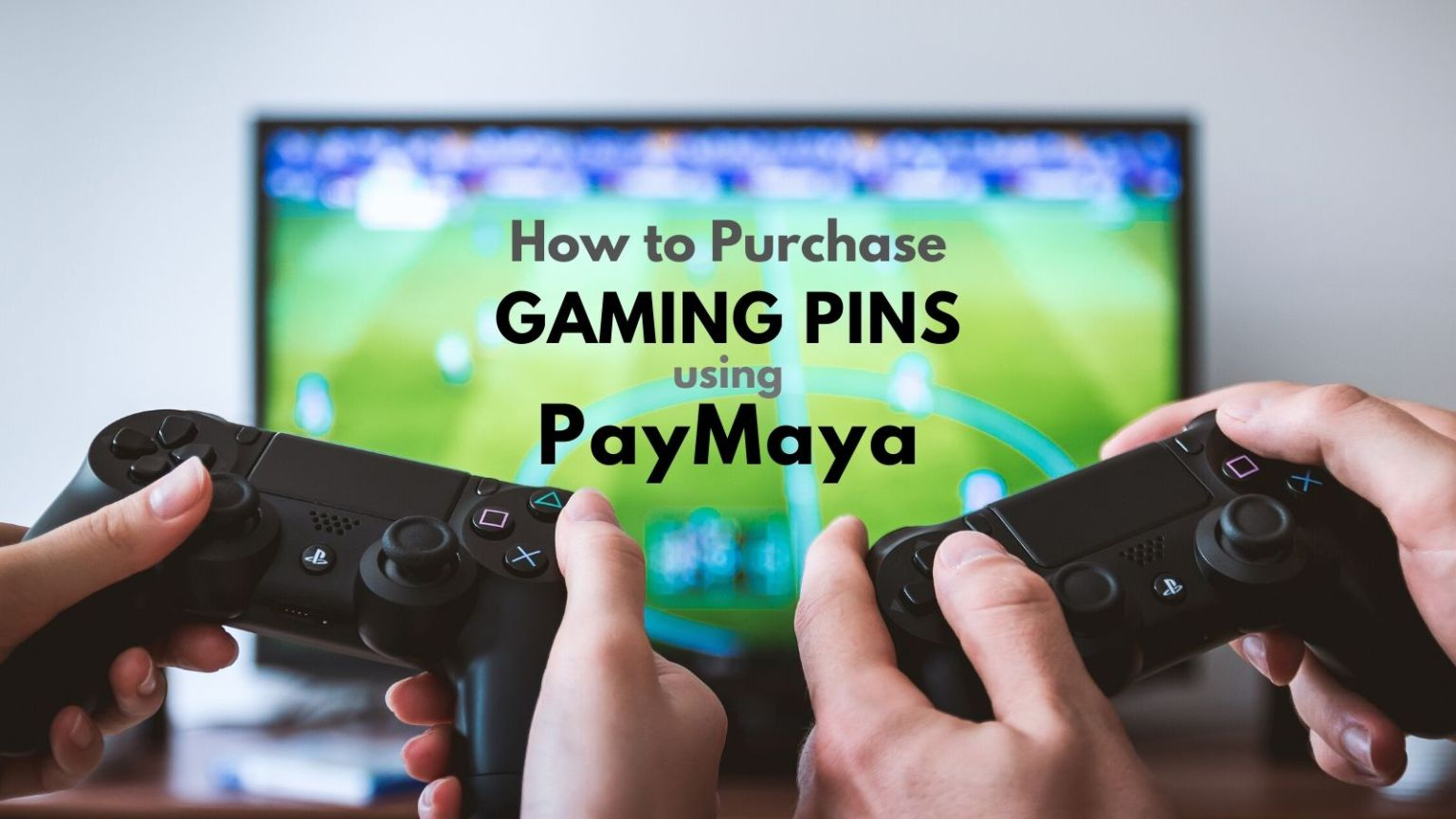 how to purchase gaming pins using paymaya