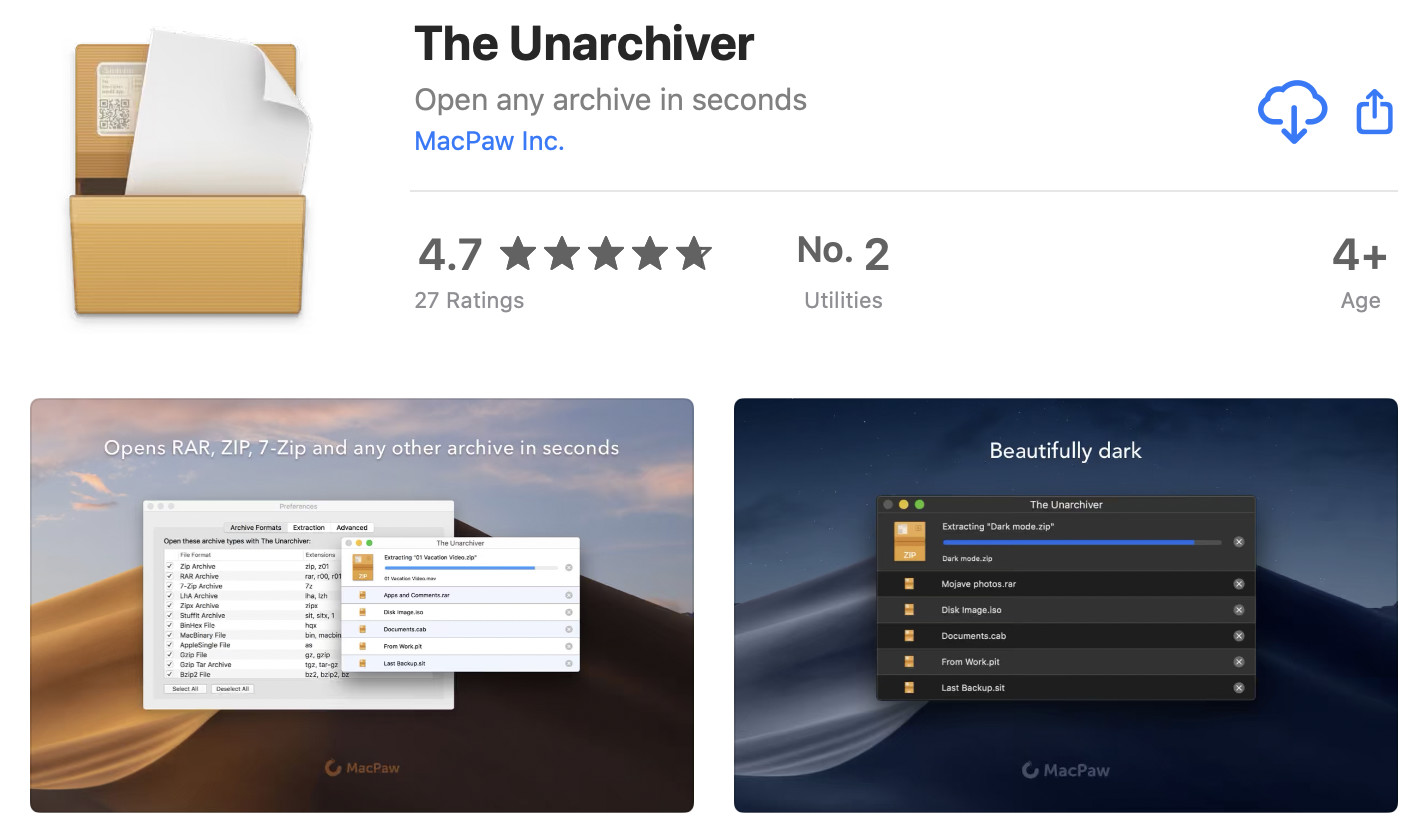 unarchiver app