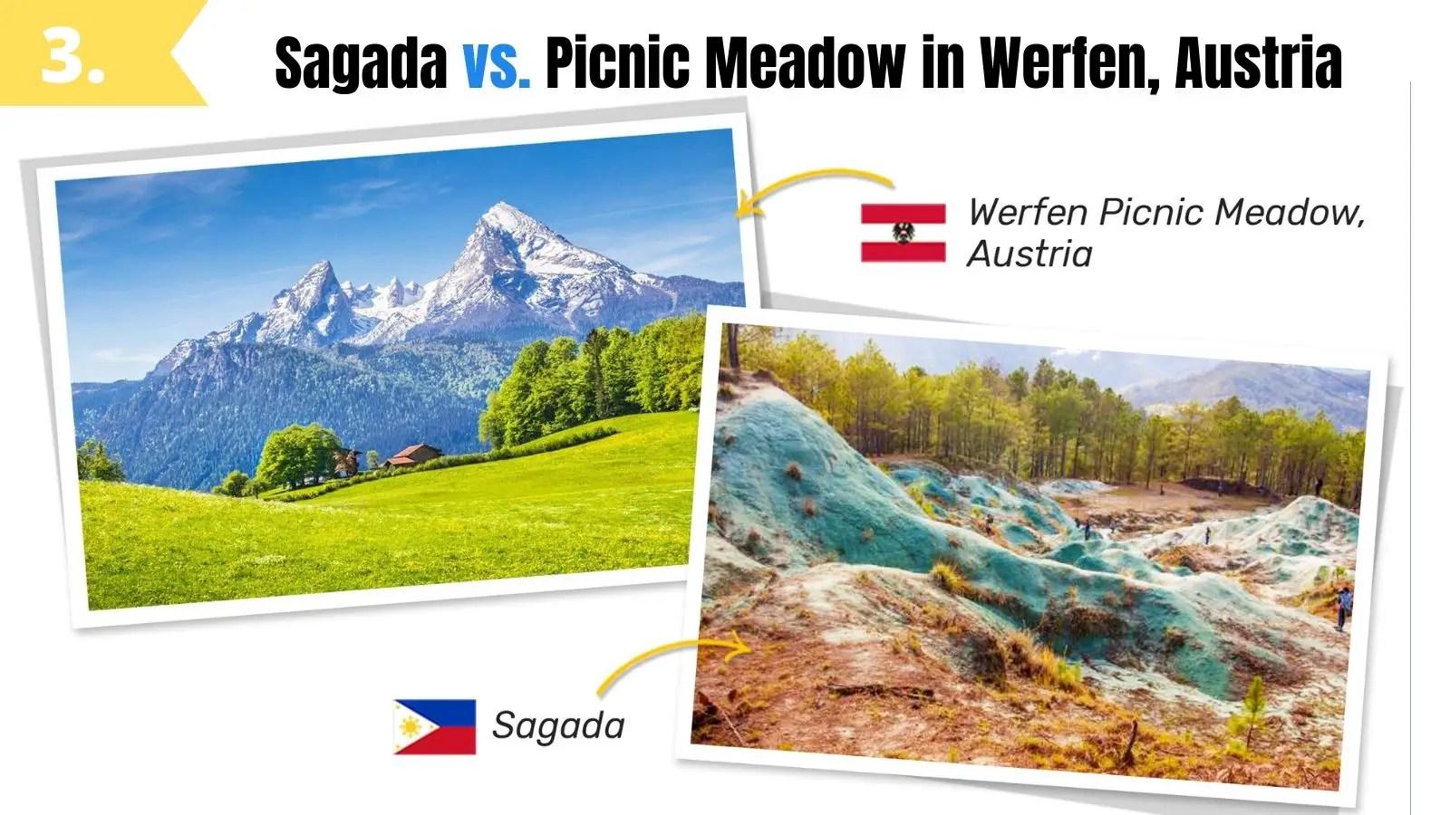 sagada philippines like picnic meadow werfen austria
