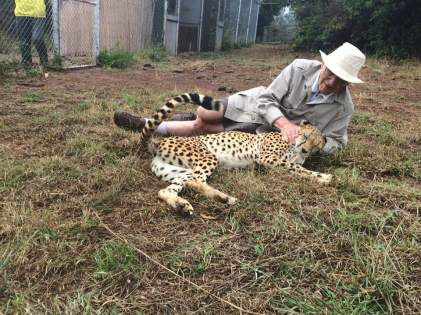 Phil Pendry with Leopard
