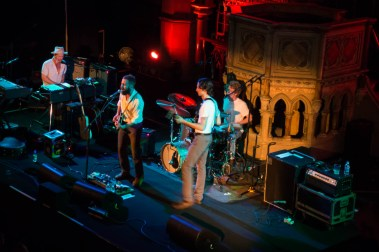 Dawes gig at the Union Chapel in London