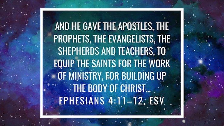 Kuvahaun tulos haulle Ephesians 4:11