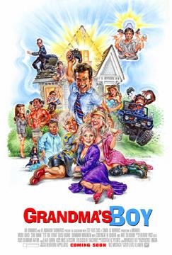 Grandmas boy Movie Poster by Phil Roberts